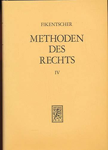 9783166376424: Methoden Des Rechts in Vergleichender Darstellung: Band 4: Dogmatischer Teil (German Edition)
