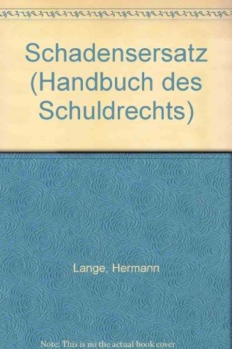9783166413624: Schadensersatz, Bd 1