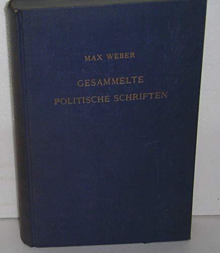 9783168436027: Gesammelte Politische Schriften