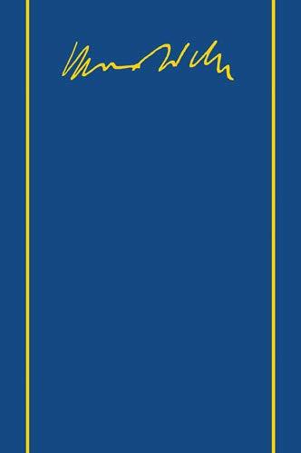 9783168453826: Max Weber-Gesamtausgabe: Band I/19: Die Wirtschaftsethik Der Weltreligionen. Konfuzianismus Und Taoismus. Schriften 1915-1920 (German Edition)