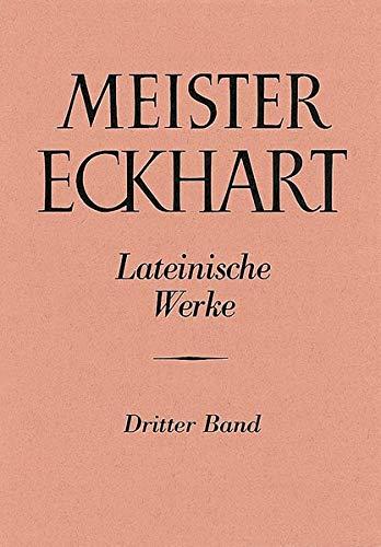 9783170010857: Meister Eckhart Lateinische Werke: Expositio Sancti Evangelii Secundum Iohannem