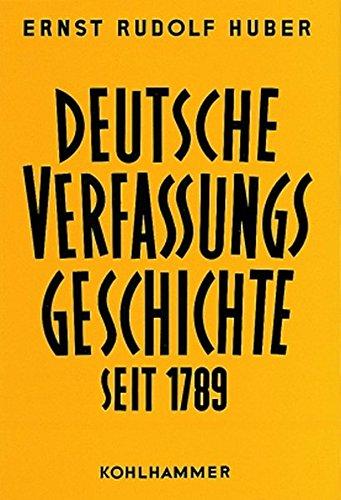 Deutsche Verfassungsdokumente 1851 - 1900: Ernst R Huber