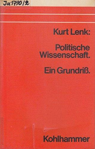 9783170020719: Politische Wissenschaft. Ein Grundriss