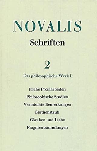 9783170021440: Das Philosophische Werk I (Schriften) (German Edition)