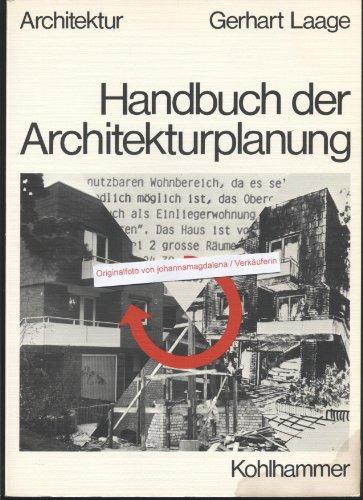 Handbuch der Architekturplanung: Gerhart Laage