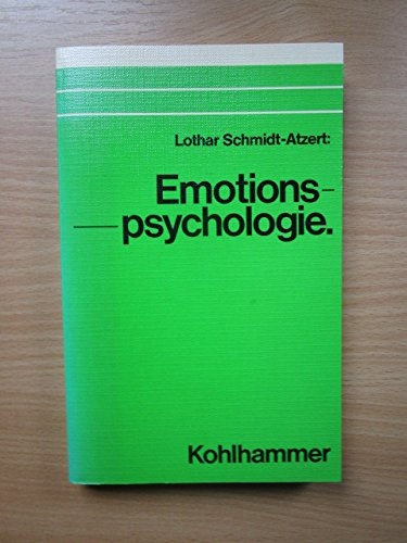 9783170072954: Emotionspsychologie