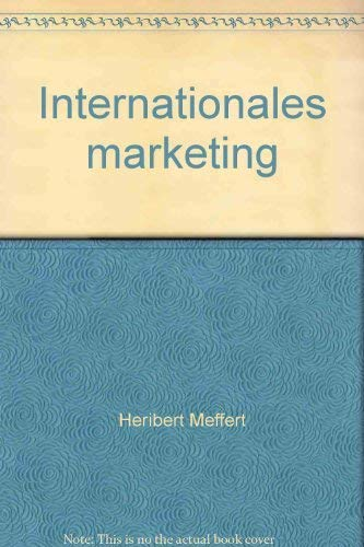 9783170073180: Internationales Marketing
