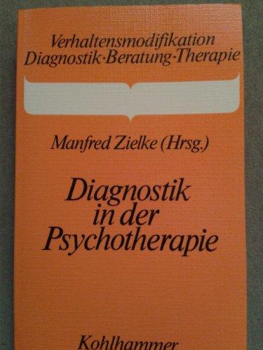 9783170075337: Diagnostik in der Psychotherapie