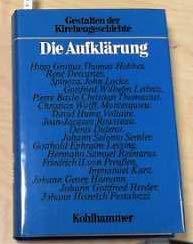 9783170077379: Gestalten der Kirchengeschichte, 12 Bde. in 14 Tl.-Bdn., Bd.8, Die Aufklärung