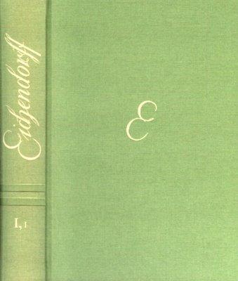 Sämtliche Werke. Historisch-kritische Ausgabe: Band I. Teil 1: Gedichte, Teil I, Text: ...