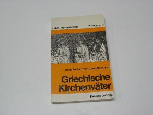 9783170093355: Griechische Kirchenväter.