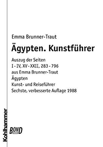 9783170101920: Ägypten: Auszug aus: Ägypten. Kohlhammer Kunst- und Reiseführer mit Landeskun...