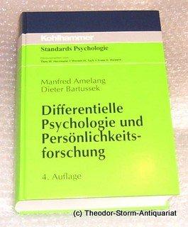 9783170107472: Differentielle Psychologie und Persönlichkeitsforschung