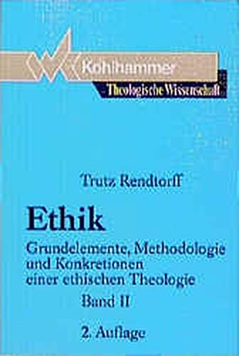 9783170113664: Theologische Wissenschaft, Bd.13/2, Ethik
