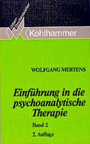 9783170125001: Einführung in die psychoanalytische Therapie