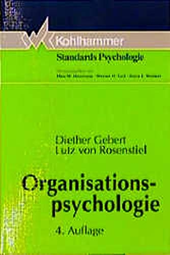 9783170132726: Organisationspsychologie. Person und Organisation