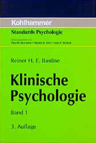 9783170132764: Klinische Psychologie, in 2 Bdn., Bd.1, Grundlegung der Allgemeinen Klinischen Psychologie