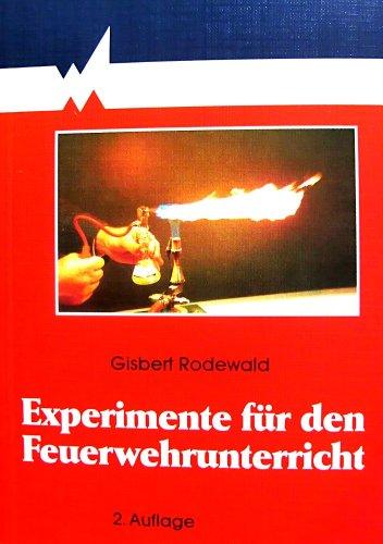 9783170135215: Experimente für den Feuerwehrunterricht