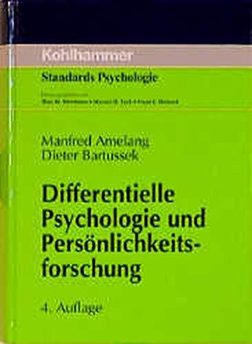 9783170136670: Differentielle Psychologie und Pers�nlichkeitsforschung