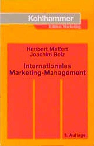 9783170149120: Internationales Marketing- Management