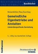 9783170150195: Gemeindliche Eigenbetriebe und Anstalten.