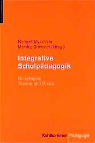 9783170151239: Integrative Schulp�dagogik.