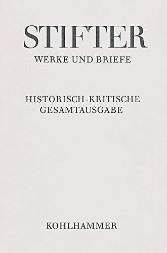 9783170153318: Die Mappe Meines Urgrossvaters: 3. Und 4. Fassung. Integraler Apparat (Adalbert Stifter: Werke Und Briefe) (German Edition)