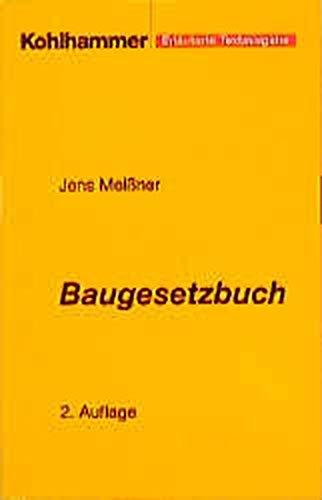 9783170162839: Baugesetzbuch 2004, Synopse