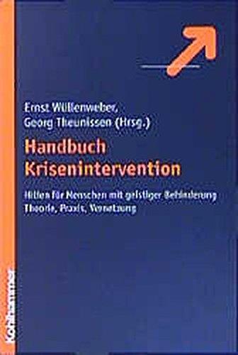 9783170164796: Handbuch Krisenintervention: Hilfe für Menschen mit geistiger Behinderung