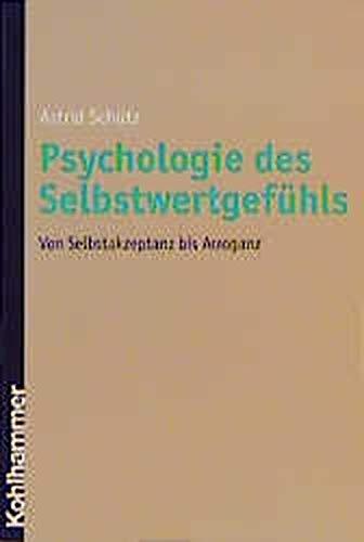 9783170166851: Psychologie des Selbstwertgefühls (Livre en allemand)