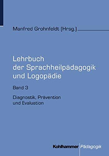 Lehrbuch der Sprachheilpädagogik und Logopädie, 5 Bde.,: Manfred Grohnfeldt