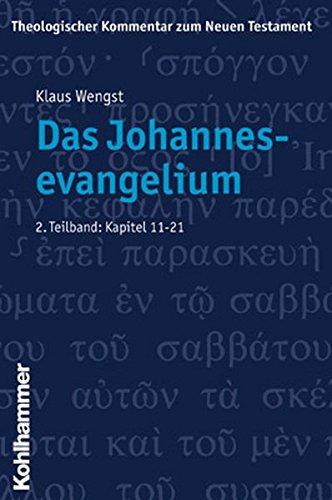 9783170169814: Theologischer Kommentar zum Neuen Testament, 23 Bde. in 24 Tl.-Bdn., Bd.4/2, Das Johannesevangelium