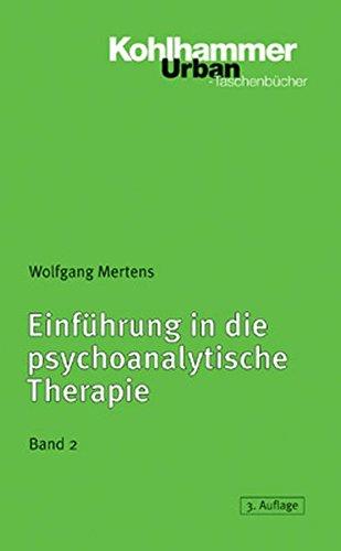9783170169890: Einfuhrung in Die Psychoanalytische Therapie, Band 2 (Urban-Taschenbucher) (German Edition)