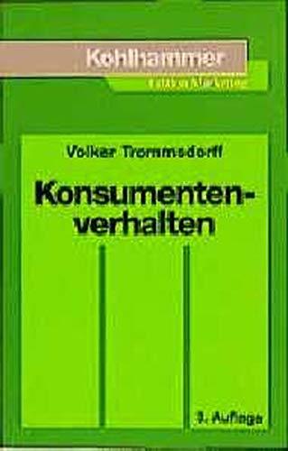 9783170170049: Konsumentenverhalten (Livre en allemand)