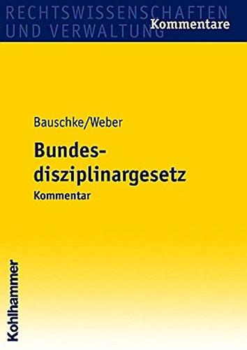 Bundesdisziplinargesetz: Hans-Joachim Bauschke