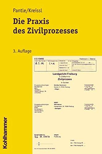 9783170171701: Die Praxis des Zivilprozesses.