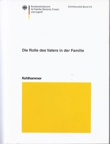 9783170174702: Die Rolle des Vaters in der Familie