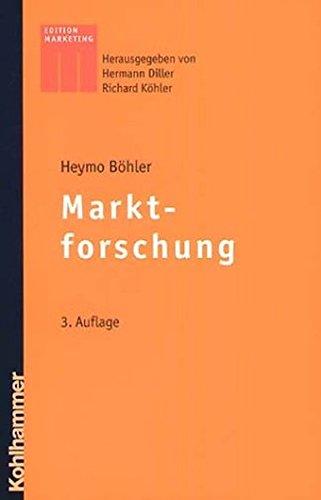 9783170181557: Marktforschung (Kohlhammer Edition Marketing)