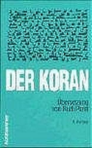 Der Koran. Textausgabe. (3170183281) by Stephanie Bond