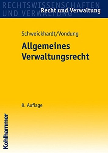 9783170183438: Allgemeines Verwaltungsrecht