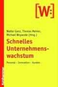 9783170189225: Schnelles Unternehmenswachstum: Personal-Innovation-Kunden (German Edition)
