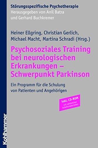 9783170191785: Psychosoziales Training bei neurologischen Erkrankungen - Schwerpunkt Parkinson: Ein Programm für die Schulung von Patienten und Angehörigen