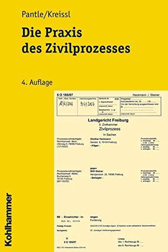9783170198852: Die Praxis des Zivilprozesses (Studienbuecher Rechtswissenschaft)
