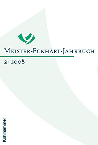 9783170201750: Meister-Eckhart-Jahrbuch: Band 2/2008 (German Edition)