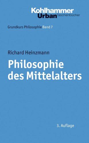 9783170205802: Philosophie Des Mittelalters (Urban-taschenbuecher) (German Edition)