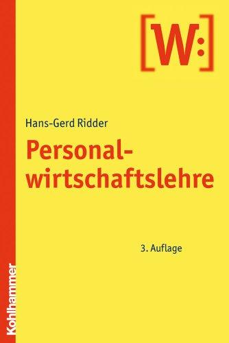 9783170208827: Personalwirtschaftslehre (German Edition)