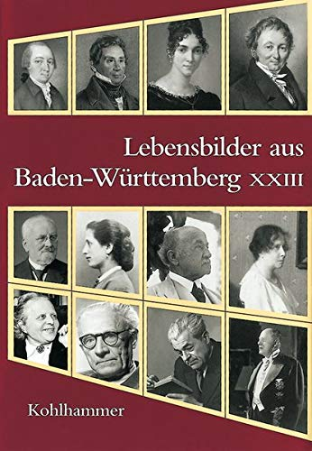 9783170215290: Lebensbilder aus Baden-Württemberg XXIII