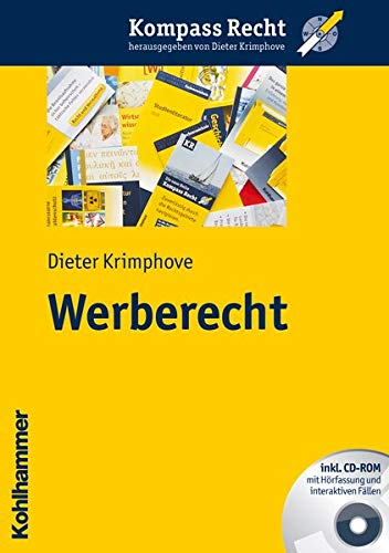 9783170217775: Werberecht (Kompass Recht) (German Edition)