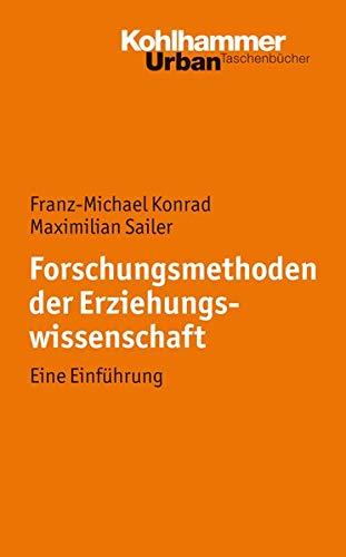 9783170217997: Forschungsmethoden der Erziehungswissenschaft: Eine Einf�hrung (Urban-Taschenbucher)