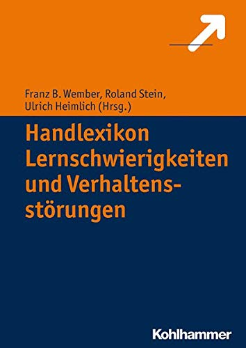 9783170218123: Handlexikon Lernschwierigkeiten und Verhaltensprobleme